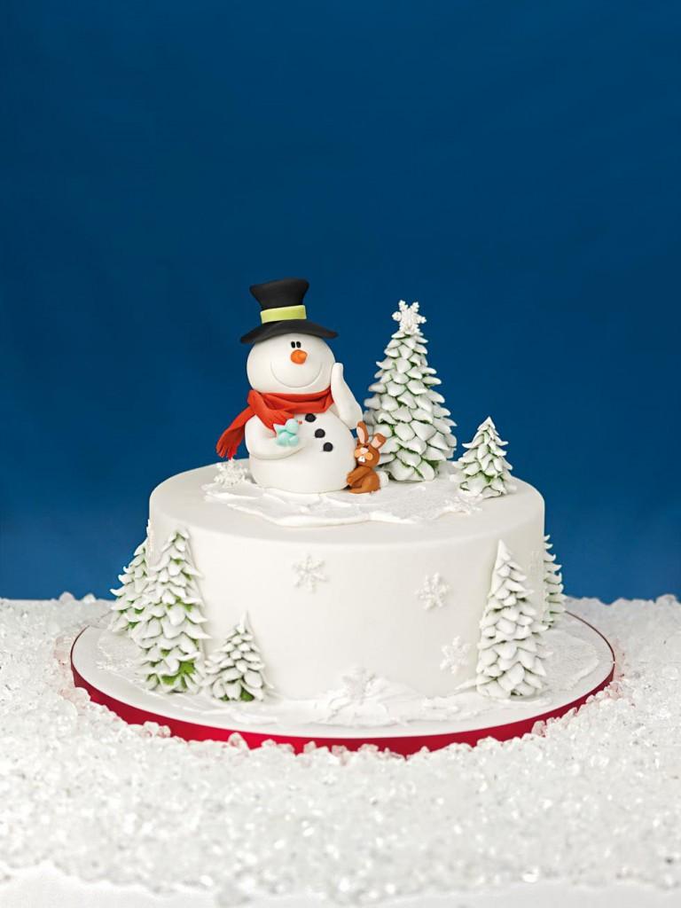 Torten zu Weihnachten